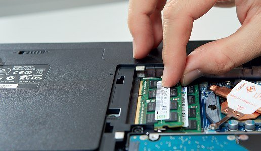 Ноутбук работает без оперативки, но медленно