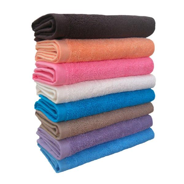 Полотенца-цветные-махровые