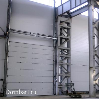 монтаж-промышленных-ворот
